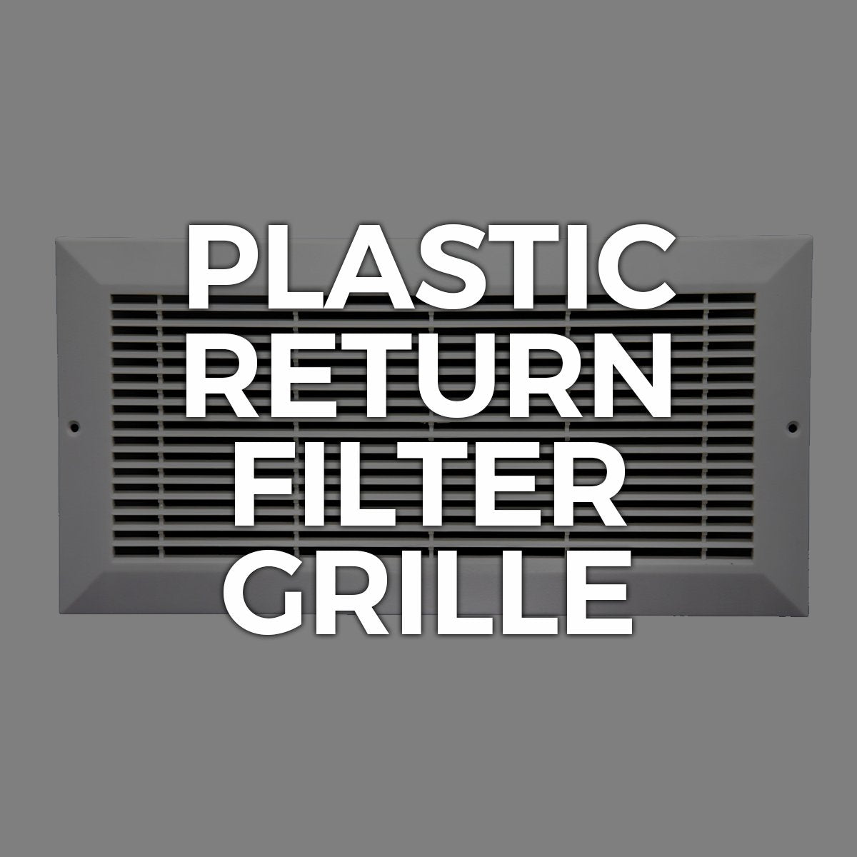 Return Filter / Plastic