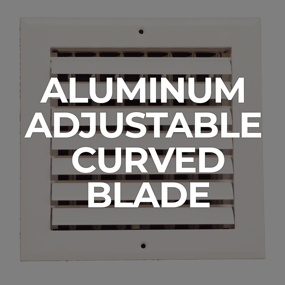 Supply / Aluminum Adjustable Curved Blade