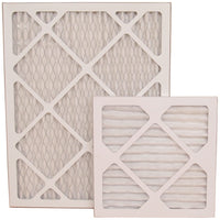 "20"" x 10"" Pleated MERV 8 Alergan Filter for HVAC Return Filter Grille [Actual Dimensions: 19.75"" X 9.75""]"