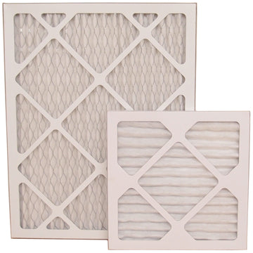 "10"" x 10"" Pleated MERV 8 Alergan Filter for HVAC Return Filter Grille [Actual Dimensions: 9.75"" X 9.75""]"