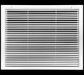 "24"" x 20"" Aluminum Return Filter Grille - Easy Air FLow - Linear Bar Grilles [Outer Dimensions: 26.5""w X 22.5""h]"