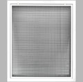 "34"" x 36"" Cube Core Eggcrate Return Air Filter Grille for 1"" Filter - Aluminum - White [Outer Dimensions: 36.5""w X 38.5""h]"