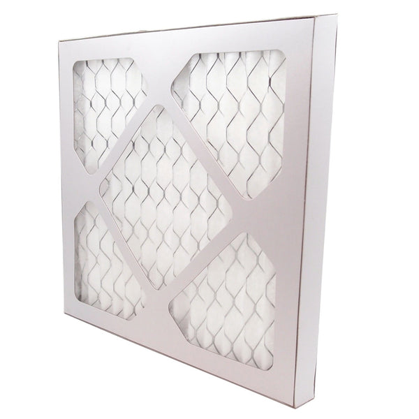 "16"" x 25"" Pleated MERV 8 Alergan Filter for HVAC Return Filter Grille [Actual Dimensions: 15.75"" X 24.75""]"