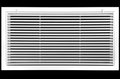 "36"" x 24"" Aluminum Return Filter Grille - Easy Air FLow - Linear Bar Grilles [Outer Dimensions: 38.5""w X 26.5""h]"