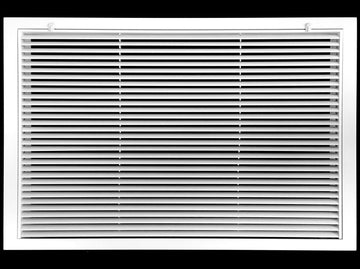 "30"" x 20"" Aluminum Return Filter Grille - Easy Air FLow - Linear Bar Grilles [Outer Dimensions: 32.5""w X 22.5""h]"