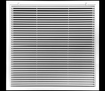 "30"" x 30"" Aluminum Return Filter Grille - Easy Air FLow - Linear Bar Grilles [Outer Dimensions: 32.5""w X 32.5""h]"