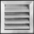 "16"" X 16"" ADJUSTABLE AIR SUPPLY DIFFUSER - HVAC Vent Duct Cover Sidewall or ceiling - Grille Register - High Airflow - White"