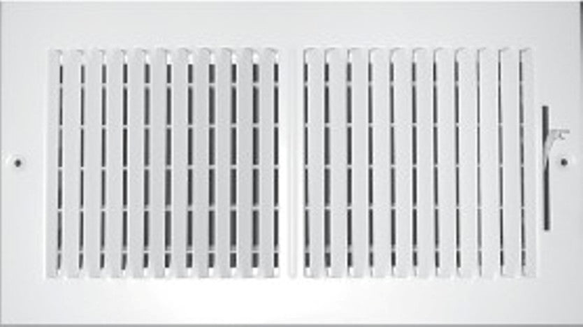 8 X 8 1-Way Fixed Curved Blade AIR Supply Diffuser Vent Duct Cover ...