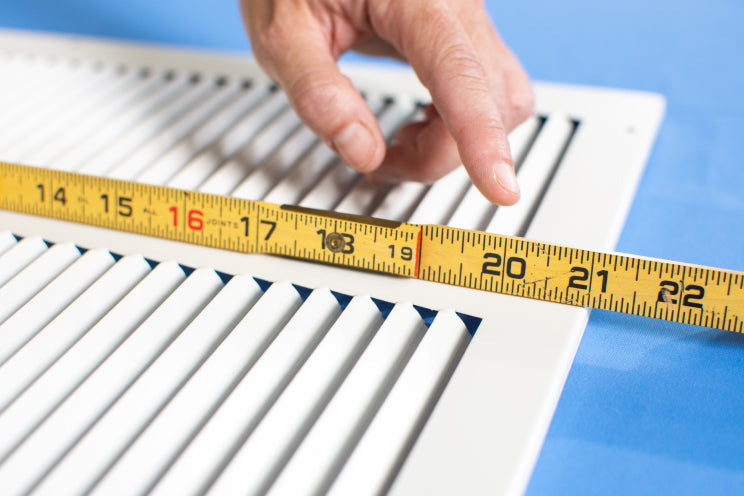 How to correctly measure a grille