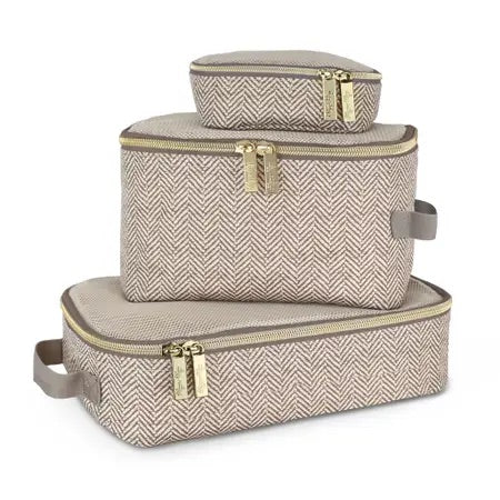 Taupe Pack Like a Boss™ Diaper Bag Packing Cubes