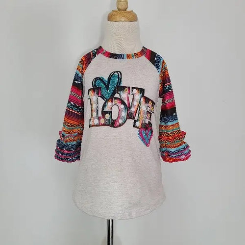 Serape LOVE Raglan Shirt