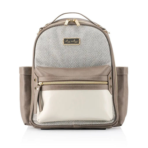 NEW Vanilla Latte Itzy Mini™ Diaper Bag Backpack