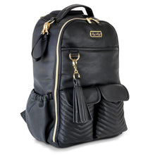 Load image into Gallery viewer, Jetsetter Black Boss Backpack™ Diaper Bag
