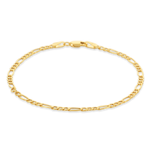 Load image into Gallery viewer, Gold Figaro Chain Bracelet - Alexa Rose Jewelry