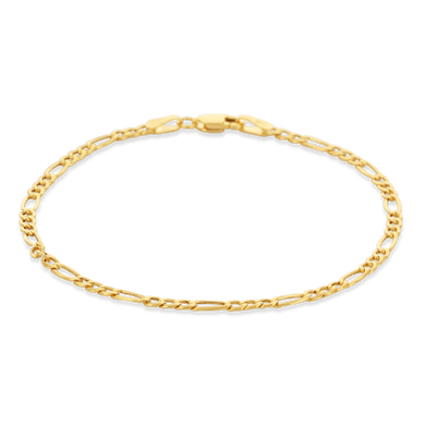 Gold Figaro Chain Bracelet - Alexa Rose Jewelry