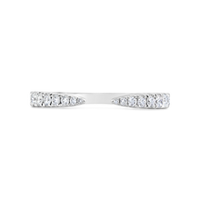 Load image into Gallery viewer, Open Band with Graduated Diamonds - ALEXA ROSE