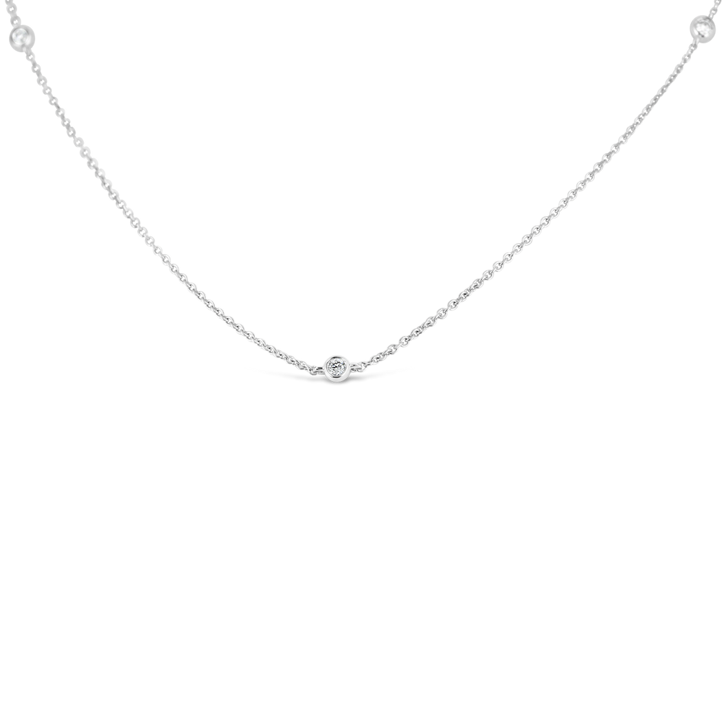 Diamonds By The Yard Necklace - ALEXA ROSE