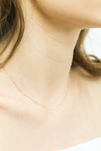 Dancing Diamond Necklace - ALEXA ROSE
