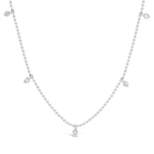 Load image into Gallery viewer, 5 Stone Diamond Necklace - ALEXA ROSE