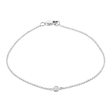 Load image into Gallery viewer, Solo Bezel Set Diamond Bracelet - ALEXA ROSE