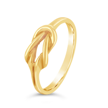 Load image into Gallery viewer, Gold Knot Ring - Alexa Rose Jewelry
