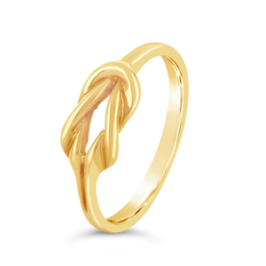 Gold Knot Ring - Alexa Rose Jewelry