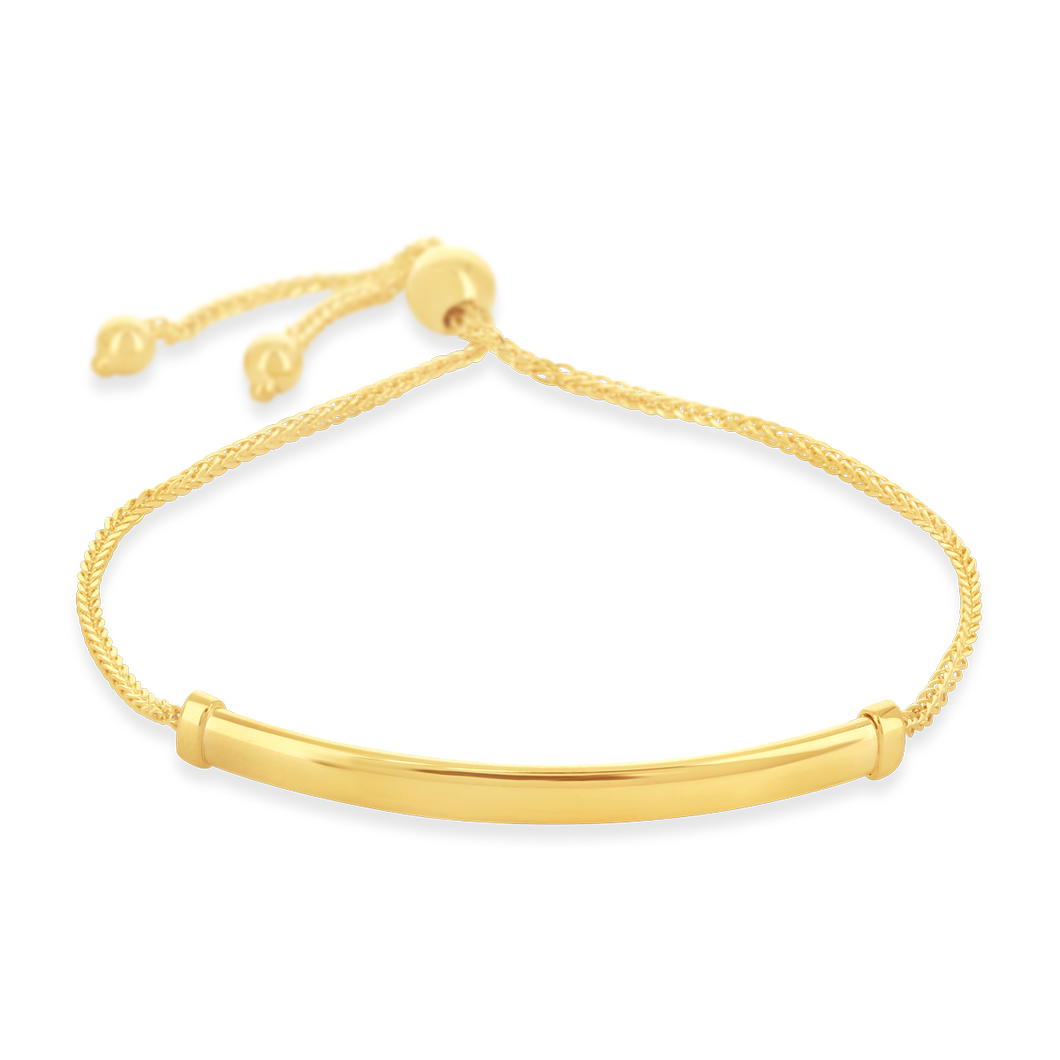 Adjustable Bar Bracelet - Alexa Rose Jewelry