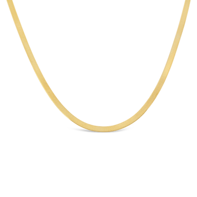Herringbone Chain Neckace - Alexa Rose Jewelry