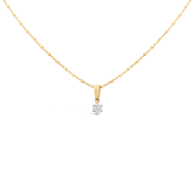 0.20 ct Diamond Solitaire Necklace - ALEXA ROSE