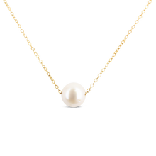 Load image into Gallery viewer, Single Pearl Necklace - ALEXA ROSE