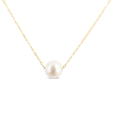Single Pearl Necklace - ALEXA ROSE