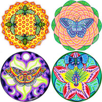 "Sacred Wings (large size 6"") Cosmic Circle"
