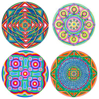 "Choose Any 4 (small size 3"") Cosmic Circles"