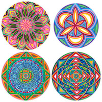 Choose any 4 (2 large + 2 small) Cosmic Circles