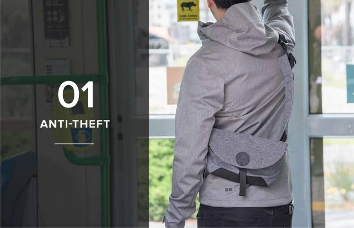 Air Sling|Anti-Theft Shoulder Bag