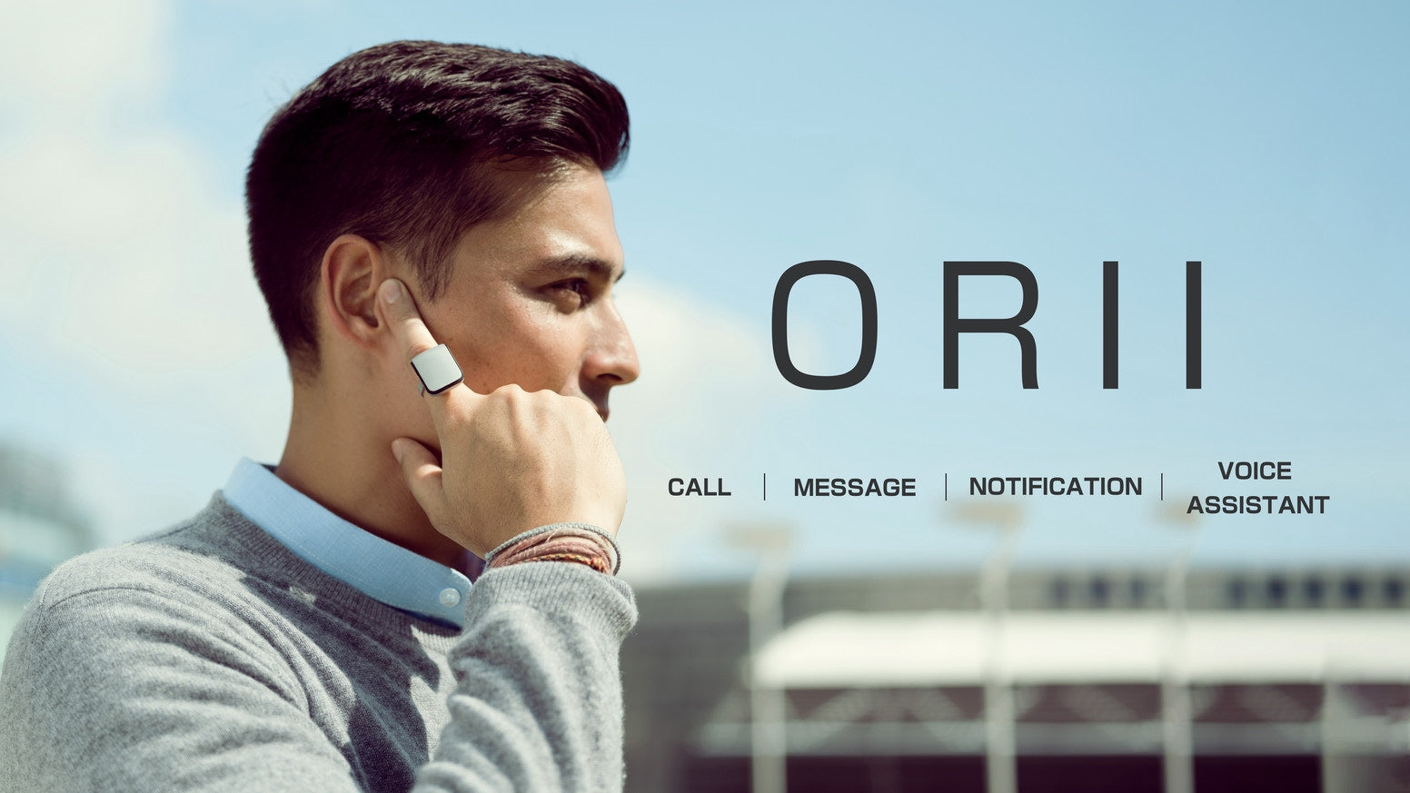 Orii|Voice Powered Smart Ring