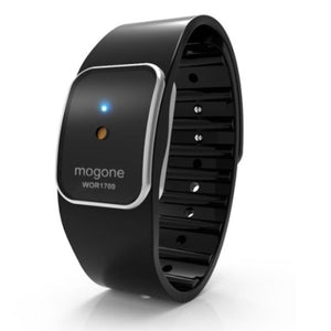 Mogone S Black - Ultrasonic Mosquito Repelling Wrist Band (Pre-order)