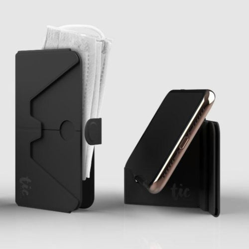 Tic Holder - Foldable Card & Phone Holder for Mask (Pre-order)