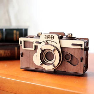 Woodsum - Retro Wooden DIY Pinhole Camera (Pre-order) - Searching C Malaysia