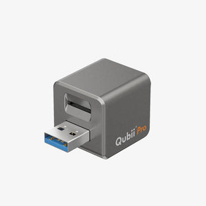 Qubii Pro- Auto Backup While Charging Your iPhone (Ready Stock)