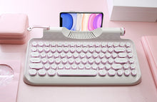 Load image into Gallery viewer, Rymek - Retro Bluetooth Mechanical Keyboard (Delivery Date: 10 May)