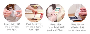 Qubii|Auto Backup While Charging Your iPhone - Searching C Malaysia