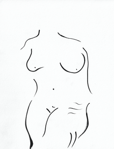 """My Body After Swimming in the Warm Italian Sea"" (Print)"