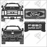 2010 - 2017 Ford Superduty Truck