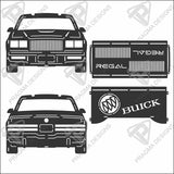 1982 - 1987 Buick Regal