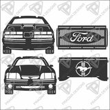 1987 - 1993 Ford Mustang, Fox Body