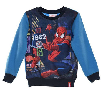Sweat Shirt Spider Man Enfant Marvel Hero – Mes Super
