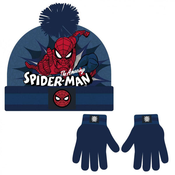 Bonnet & Gants Spider-Man - Enfant - Marvel - Amazing