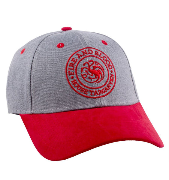 Casquette Game of Thrones - Fire and Blood