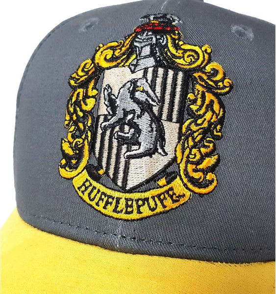 Casquette Harry Potter - Logo Maison Poufsouffle